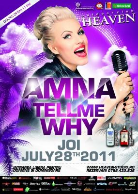 Concert Amna în Club Heaven Outdoor www.vedetepenet.ro