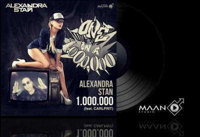 Alexandra Stan 1.000.000 feat. Carlprit  400x274 Piesă nouă: Alexandra Stan feat Carlprit   One Million (1000000)