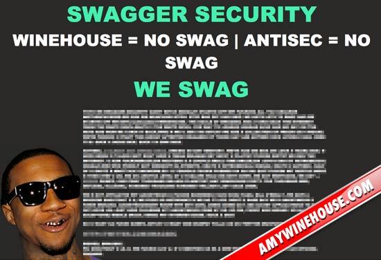Amy Winehouse tinta hackerilor Site ul lui Amy Winehouse a fost atacat de hackeri