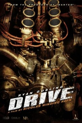 Drive 2011 Movie Poster 269x400 Drive cu Ryan Gosling (trailer)