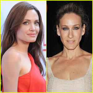angelina jolie sarah jessica parker forbes Angelina Jolie şi Sarah Jessica Parker împart coroana celor mai bine plătite actriţe de la Hollywood