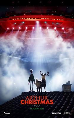 arthur christmas poster 250x400 Arthur Christmas 3D (teaser trailer)