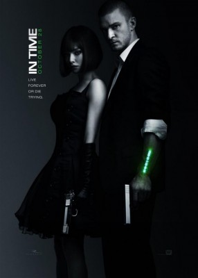 in time movie poster 286x400  In Time cu Justin Timberlake şi Amanda Seyfried (trailer)