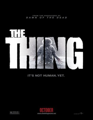 the thing poster 2011 312x400 The Thing (trailer)