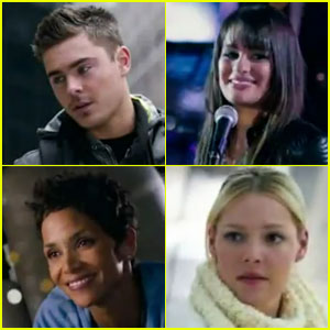 zac efron new years eve trailer Zac Efron şi Lea Michele în New Years Eve (teaser trailer)