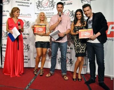 LIVIU HODOR MONA www.vedetepenet.ro  400x316 Liviu Hodor, premiat la GALA PREMIILOR VIP, pentru piesa SWEET LOVE