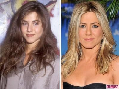 Jennifer Aniston 400x300 Atunci şi acum. Vedetele de la Hollywood parcă întineresc (foto)