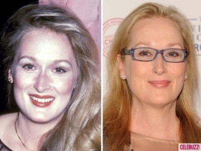 Meryl Streep 400x300 Atunci şi acum. Vedetele de la Hollywood parcă întineresc (foto)
