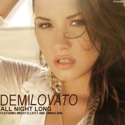 demi lovato all night long missy elliott timbaland 400x400 All Night Long   Demi Lovato ft. Missy Elliott & Timbaland