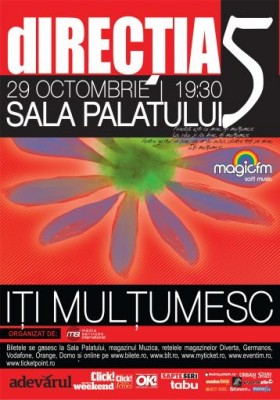 directia 5 concert octombrie 01 280x400 Concert dIRECTIA 5 dedicat special fanilor