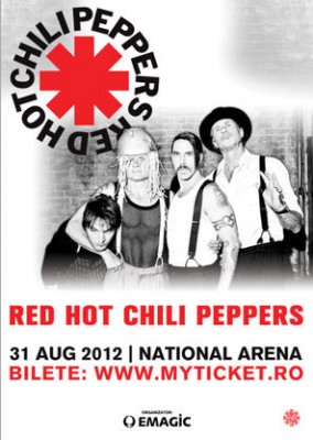 OFICIAL Red Hot Chili Peppers in concert la Bucuresti pe 31 august 2012 284x400 Concert Red Hot Chili Peppers în România pe Stadionul Naţional