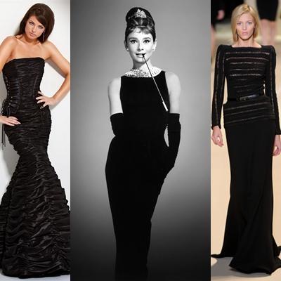 rochie eleganta  Rochia neagră mereu la modă.