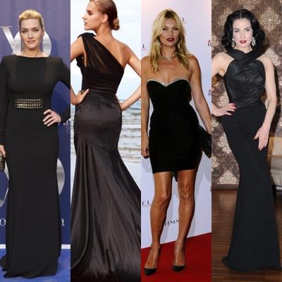 rochie neagra  Rochia neagră mereu la modă.