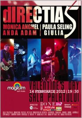 Concert Directia 5 de Valentine's Day www.vedetepenet.ro