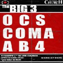 concert OCS Coma AB4.www .vedetepenet.ro  Super party cu COMA, OCS şi AB4 în Silver Church