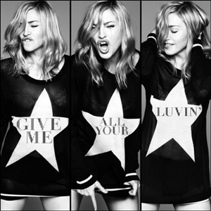 madonna give me all your luvin coperta single www.vedetepenet.ro 1 Madonna   Give Me All Your Luvin (Coperta single)