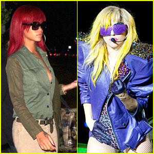 rihanna lady gaga youtube www.vedetepenet.ro  Rihanna, noua regină Youtube!