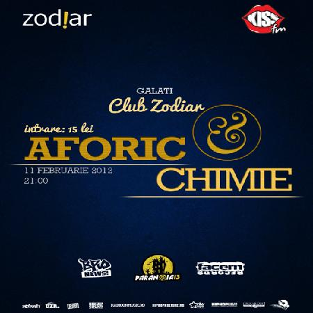 afis afo chimiewww.vedetepenet.ro  Concert Aforic și Chimie – Club Zod!ar