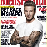 Imagine David Beckham, pe coperta Men's Health
