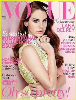 lana del rey vogue uk coperta www.vedetepenet.ro  Lana Del Rey, pe coperta Vogue!