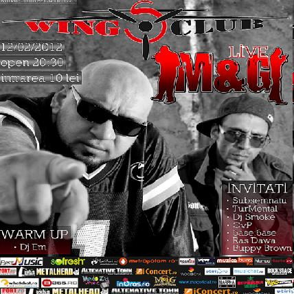 m4gwww.vedetepemet.ro  Concert M&G – Wings Club (București)