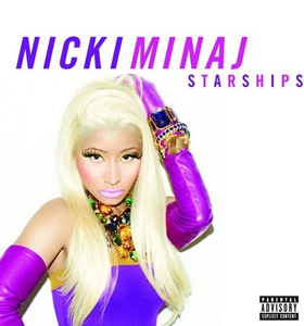nicki minaj starships coperta single www.vedetepenet.ro  Nicki Minaj   Starships (copertă single)