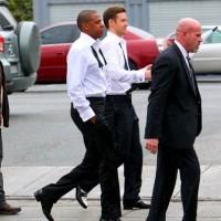 justin timberlake jayz poze filmari videoclip2 vedetepenetro 200x200 Justin Timberlake și Jay Z filmează videoclipul pentru Suit&Tie (poze)