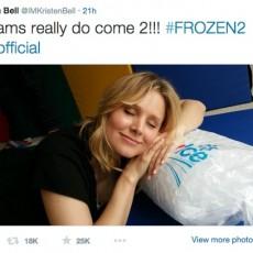 Kristen bell twitter www.vedetepenet.ro  230x230 Va exista o a doua parte a animaţiei Frozen