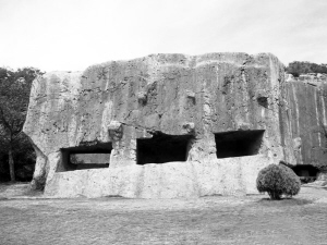 StoneYangShan Vedetepenet.ro  Constructie din pietre masive in Yangshan, China, sfideaza legile fizicii