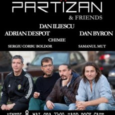 Partizan Friends pe 8 mai la Hard Rock Cafe www.vedetepenet.ro  230x230 Partizan & Friends pe 8 mai la Hard Rock Cafe