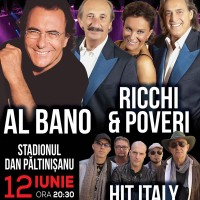 Imagine Concert Al Bano şi Ricchi e Poveri, în premieră la Timişoara