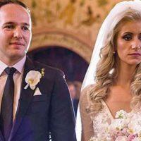 Imagini Fiul lui Tudorel Toader a facut nunta cu bodyguarzi la usa bisericii