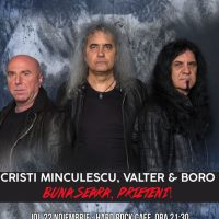 Imagini Concert Buna Seara, Prieteni (Cristi Minculescu, Valter & Boro) la Hard Rock Cafe