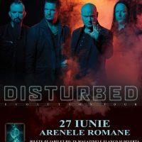 Imagini Concert Disturbed in premiera in Romania pe 27 iunie 2019