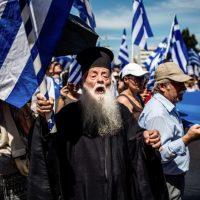 Imagini Decizie istorica in Grecia. 10.000 de preoti vor fi scosi de pe statele de salarii platite de stat