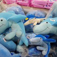 Imagini Delfini din plus cu PENIS, intr-un magazin din Romania  FOTO