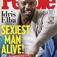 Imagini Idris Elba, desemnat cel mai sexy barbat in viata