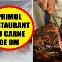 Imagini SOCANT! In Japonia s-a deschis primul restaurant unde se serveste carne de om