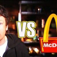 Imagini JAMIE OLIVER a castigat PROCESUL cu McDonald's! Mancarea celor de la McDonald's nu este COMESTIBILA