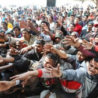Imagini LIBER pentru MIGRANTI in Romania!  Iohannis si-a dat acordul ca Romania sa semneze Pactul pentru migratie