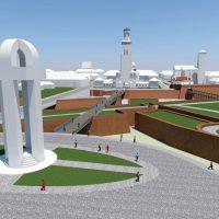 Imagini Monumentul FACEBOOK de la Alba Iulia FOTO