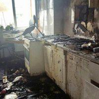 Imagini Un tanar a murit intr-o explodie dupa ce a bagat un cuptor cu microunde intr-un alt cuptor cu microunde