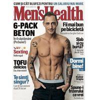 Imagini Vladimir Draghia pe coperta Men's Health – editia noiembrie 2018