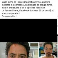 Imagini Salveaza-l pe IRON MAN , evident cu un SHARE pe FACEBOOK