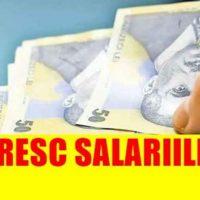 Imagini CRESC salariile de la 1 ianuarie 2019  AFLA CU CAT!