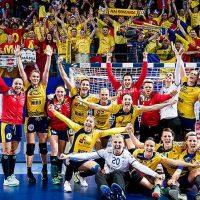 Imagini Rezultat istoric! Romania obtine o victorie fantastica in fata campioanei en-titre Norvegia la Campionatul European de handbal feminin