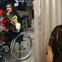 Imagini Felicitari!!! Medic rezident in scaun cu rotile! Ea este tanara care a reusit sa isi indeplineasca visul!