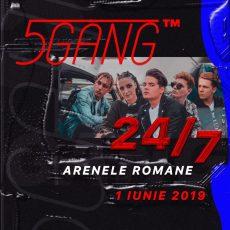 Imagine 1 IUNIE 2019 : 5GANG va sustine cel mai mare concert de pana acum 24/7