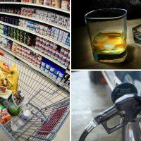Imagini 1 ianuarie vine cu scumpiri. De astazi se scumpesc carburanţii, berea, ţigările şi electricitatea