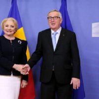 Imagini Incepând de astăzi, România preia preşedinţia Consiliului Uniunii Europene